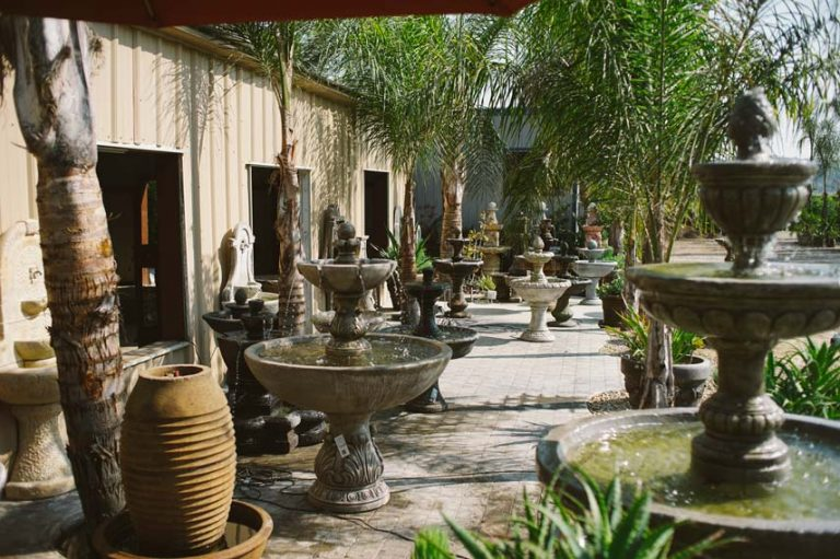 variety of fountains