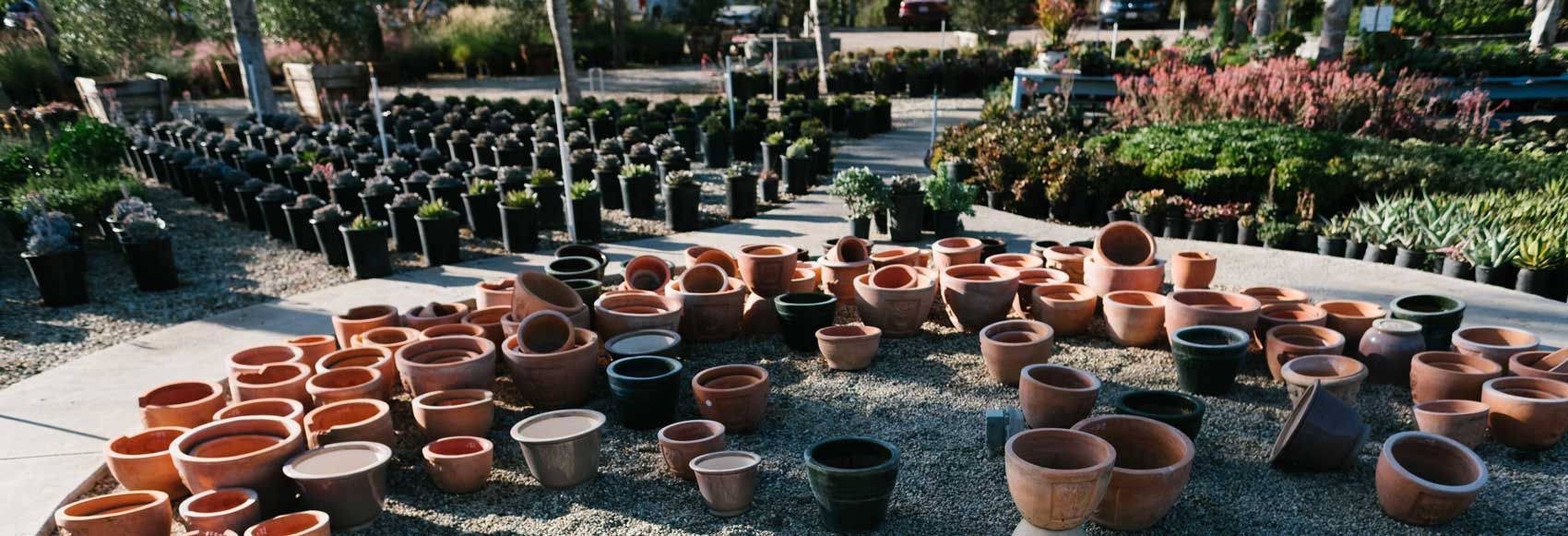pottery in moorpark at sterling gardens