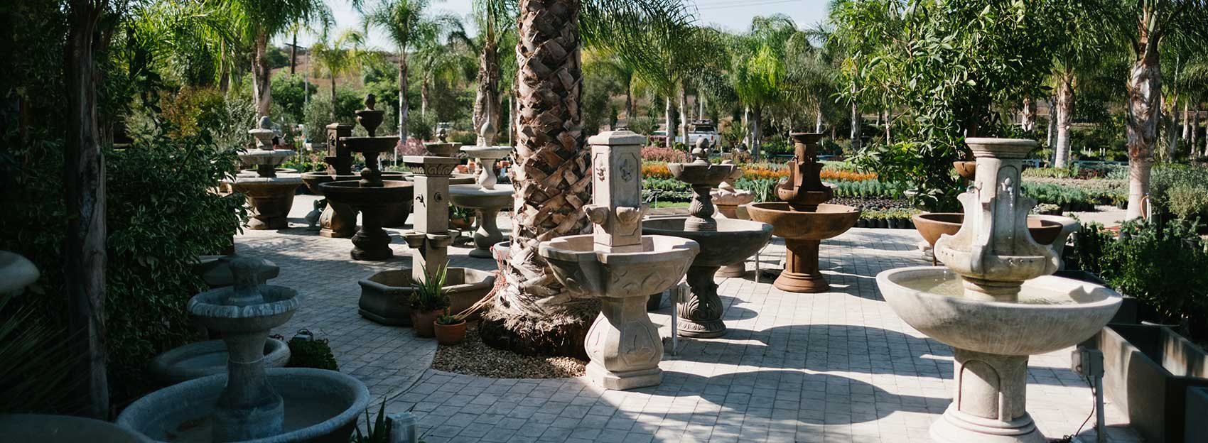 Sterling Gardens Fountains